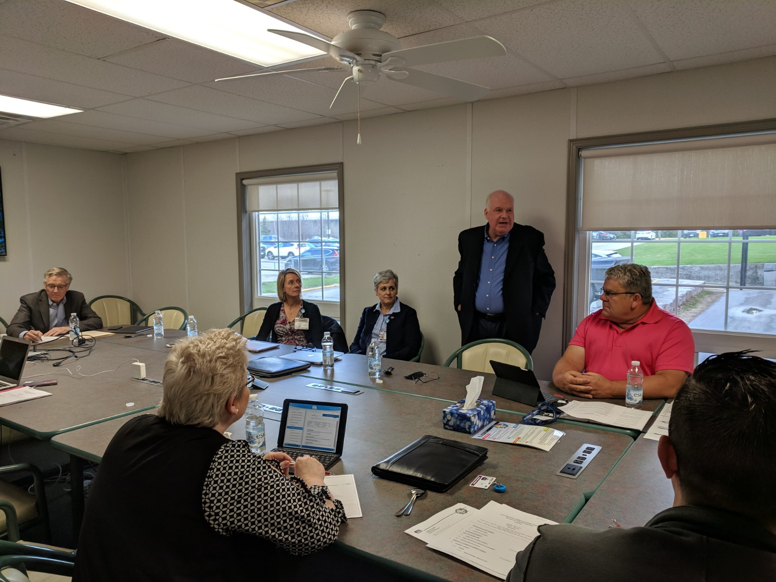 Collingwood Hospital board meeting photo May 2019