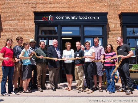Food Co-op Grand OPening Collingwood May 18 2013