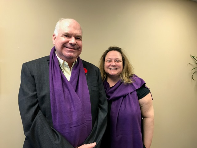 Jim and Purple Scarf Campaign web version