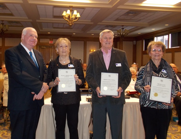 Presidents of the PROBUS Club of Alliston Womens PROBUS Club of Alliston and PROBUS Club of South Simcoe WEBSITE
