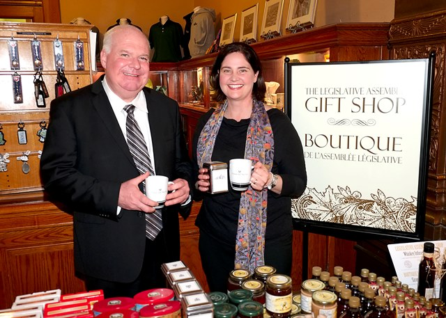 Rebecca Brown Clearview Tea Company in Gift Shop WEBSITE