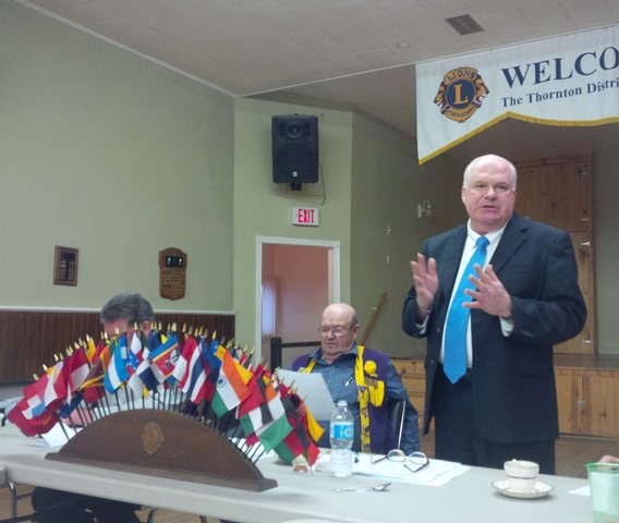 Thornton Lions Club service club speech April 2015 WEBSITE
