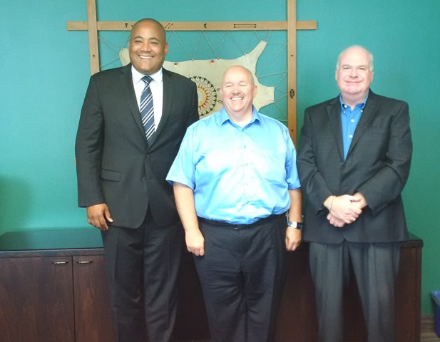 Wasaga Beach Meetings with Minister of Tourism Culture and Sport Michael Coteau and Mayor Brian Smith August 6 2015 WEBSITE