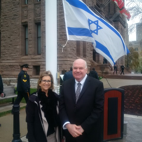 flag raising Israel 69th anniversary of independence WEBSITE