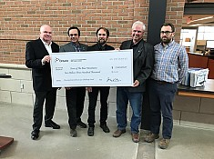 Wilson presents $2.3 million grant to The Blue Mountains