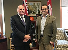 Jim meets with Ontario Trial Lawyers Association