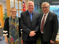 Jim meets with Simcoe Muskoka District Health Unit