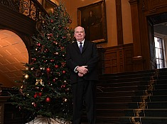 Wilson thanks Drysdale's for Queen's Park Christmas trees
