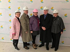 Wilson pleased with $1.2 million grant for Matthews House Hospice